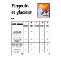 Pingouin et glaciers: projet d'arts plastiques