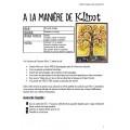 À la manière de Klimt: Arts plastiques