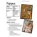Papyrus: Art égyptien