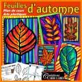 Feuilles d'automne arts plastiques