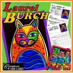 Chats à la manière de Laurel Burch  - Arts
