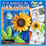 À la manière de Van Gogh, arts