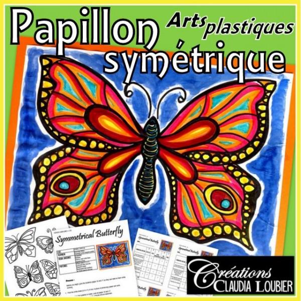 Papillon symétrique - arts plastiques
