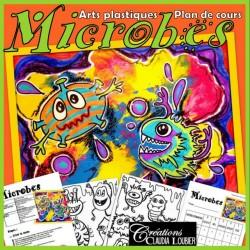 Microbes, projet d'arts plastiques