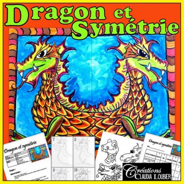 Dragon et symétrie: projet d'arts plastiques