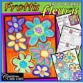 Fleurs de frottis : fête des Mères, printemps