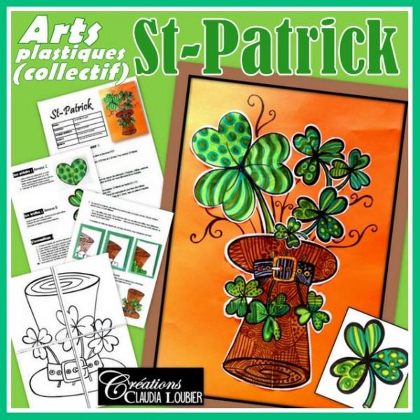 St-Patrick: projet collectif d'arts plastiques