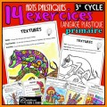 3e cycle: 14 exercices langage plastique