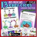 1er cycle: 13 exercices du langage plastique