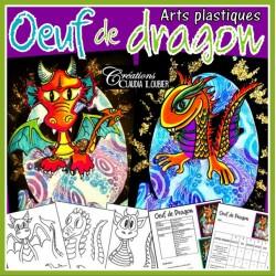 Oeuf de dragon: Pâques, arts plastiques