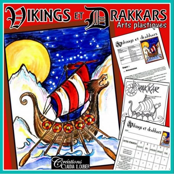 Viking et drakkars:  Arts plastiques
