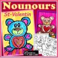 St-Valentin: Nounours, projet d'arts plastiques