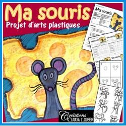 Ma souris : Arts, maternelle, 1re, 2e année