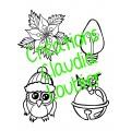 Noël : Coloriage collectif , couronne