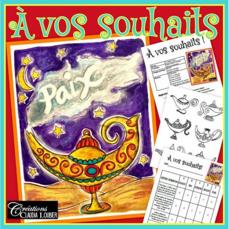 Vos Souhaits Arts Plastiques Et Nouvel An