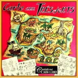 Carte aux trésArts de pirate - Arts plastiques