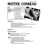 Maître corbeau : projet d'arts plastiques