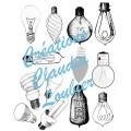 Voeux lumineux : Arts plastiques - Noël