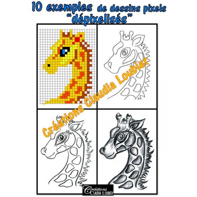 Dépixelisez Pixel Art Arts Plastiques