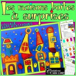 Les maisons boites à surprises - arts plastiques