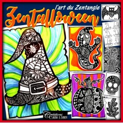 Zentalloween ! L'art du Zentangle - Halloween