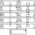 Étiquettes cactus - Identifiaction et bureau