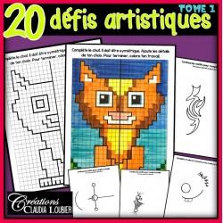 20 défis artistiques ! Tome 1