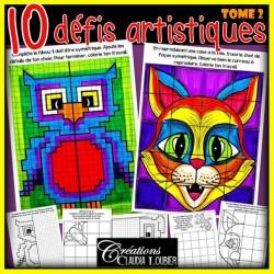 10 défis artistiques !  Tome 2