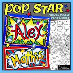 Pop Star ! Arts plastiques