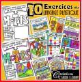 4 ENSEMBLES d'exercices du langage plastique
