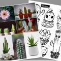 Cactus qu'on s'aime ! Arts plastiques