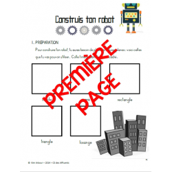 Projet - Construis ton robot