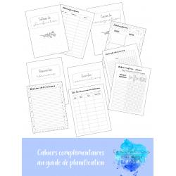 Planificateur - cahiers complémentaires