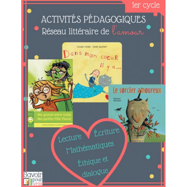 Réseau littéraire de l'amour, activités 1er cycle