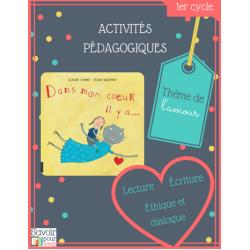 Activités pour «Dans mon coeur il y a…», 1er cycle