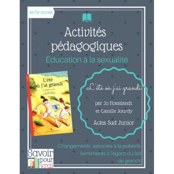 Éducation à la sexualité - L'été où j'ai grandi
