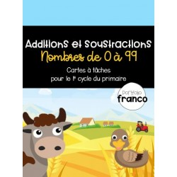 Additions et soustractions - CAT (1e cycle)