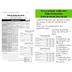 Grille d'évaluation - Communiquer oralement
