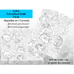 Fonds Doodle