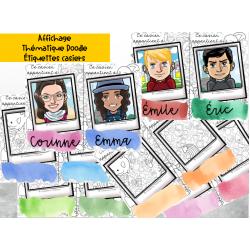 Identification des casiers Doodle