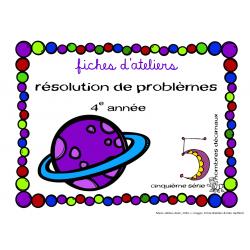 Fiche de résolution de problème - série 5
