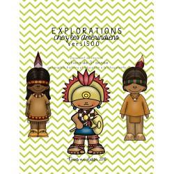 Explorations chez les Amérindiens