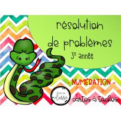 Résolution de problème - numération