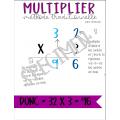 Multiplier - tableau d'ancrage