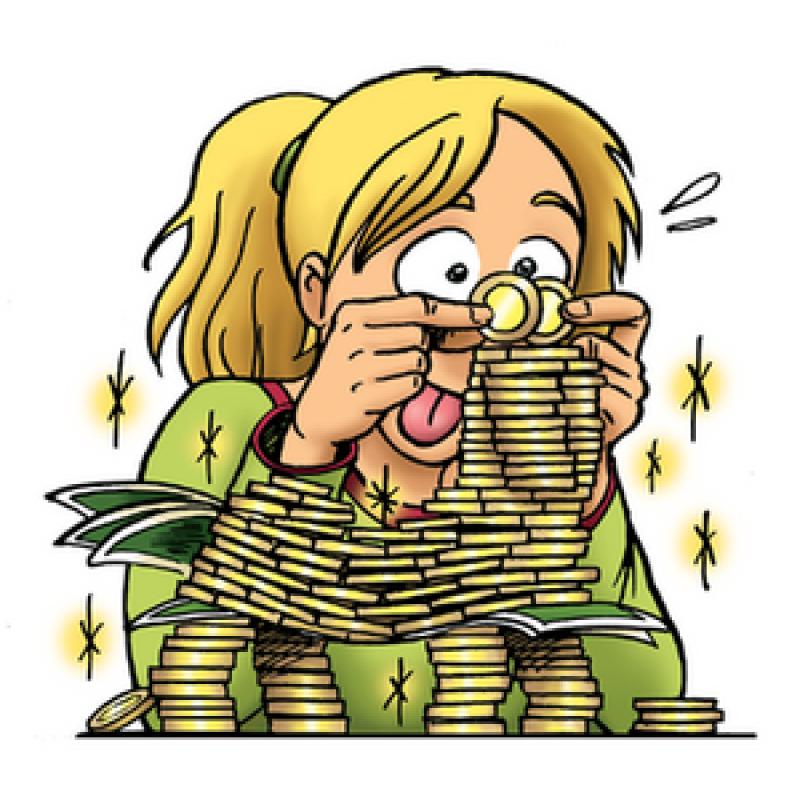 Pieniądze - nagłówek - Francuski przy kawie