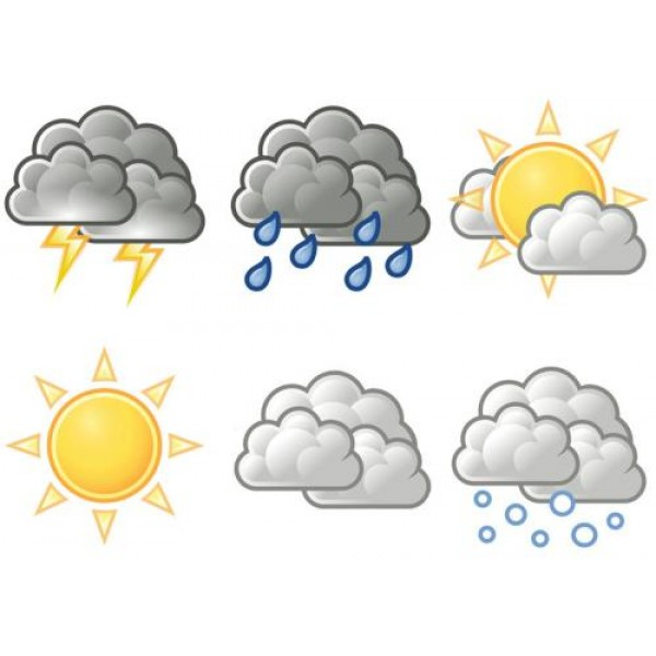 WEATHER - FLASHCARDS