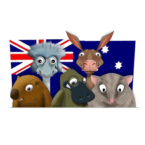 AUSTRALIA - ACTIVITY - AUSTRALIAN ANIMALS - 2