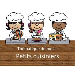 Thématique des petits cuisiniers