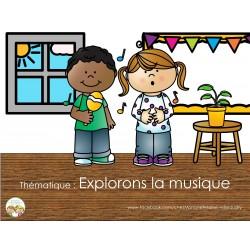 Thématique Explorons la musique