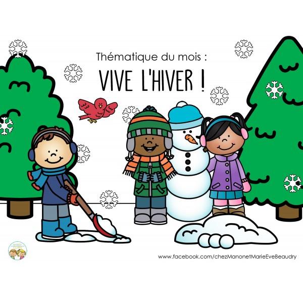 Thématique Vive l'hiver